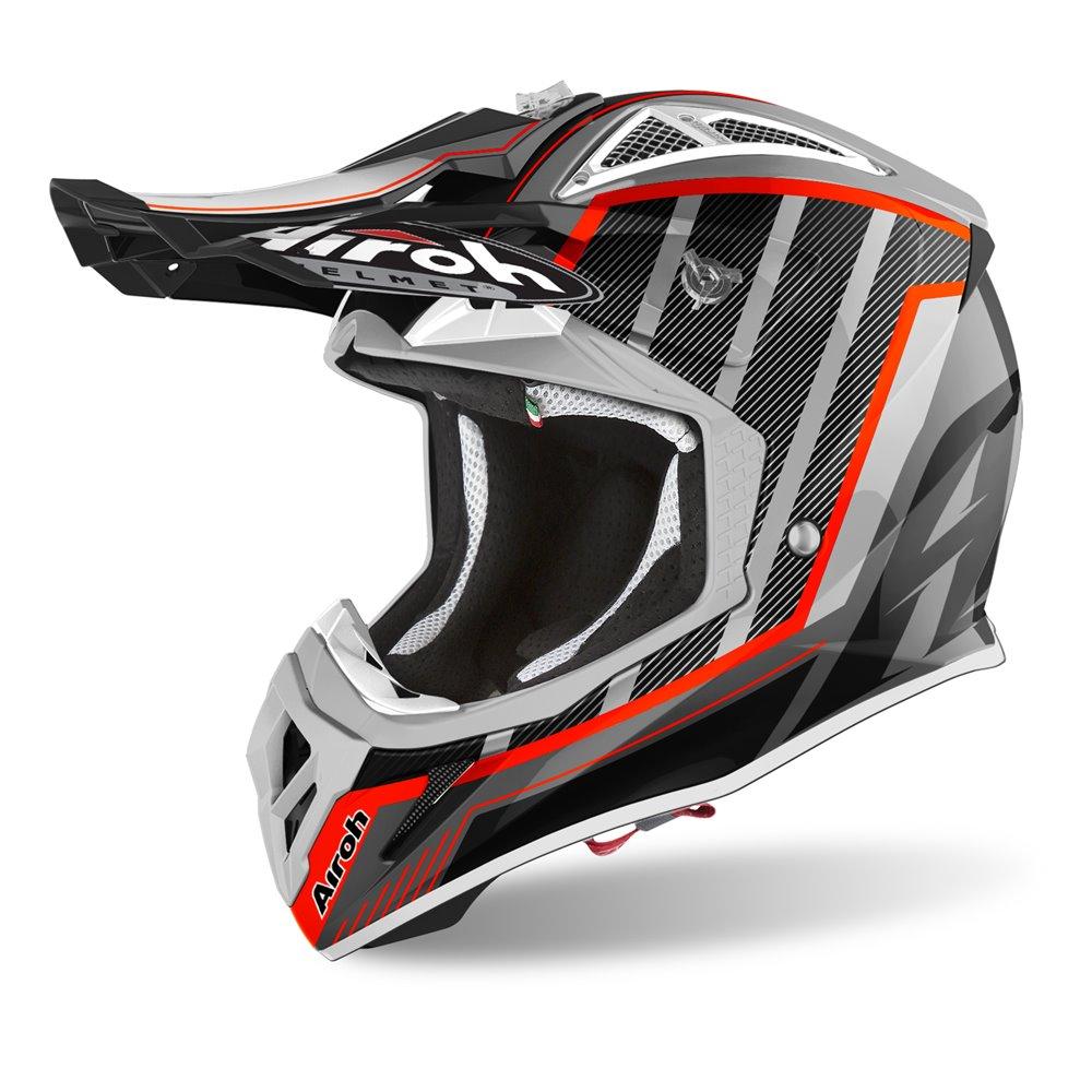Airoh Helmet Aviator 2.3 AMSS Glow chrome black XS