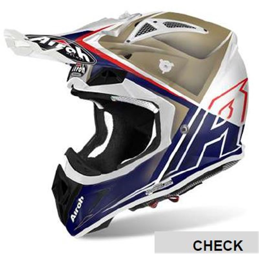 Airoh Helmet Aviator 2.2 CHECK Sand gloss XS