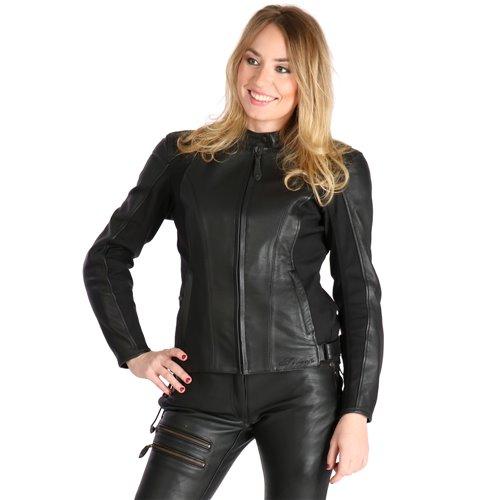 Sweep Leatherjacket Bonita Lady, black 42