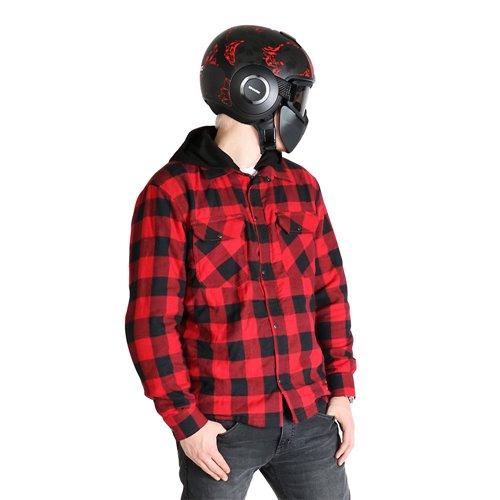 Sweep Shirt kevlar Manitou Red/Black S