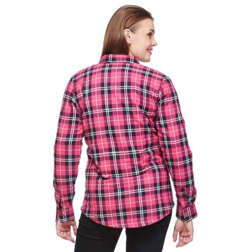 Sweep Shirt kevlar Manitou W Black/Pink 44
