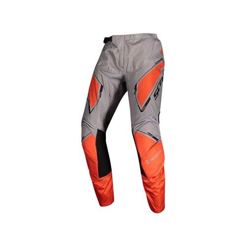 SCOTT Pant 350 Dirt Kids grey/orange 28