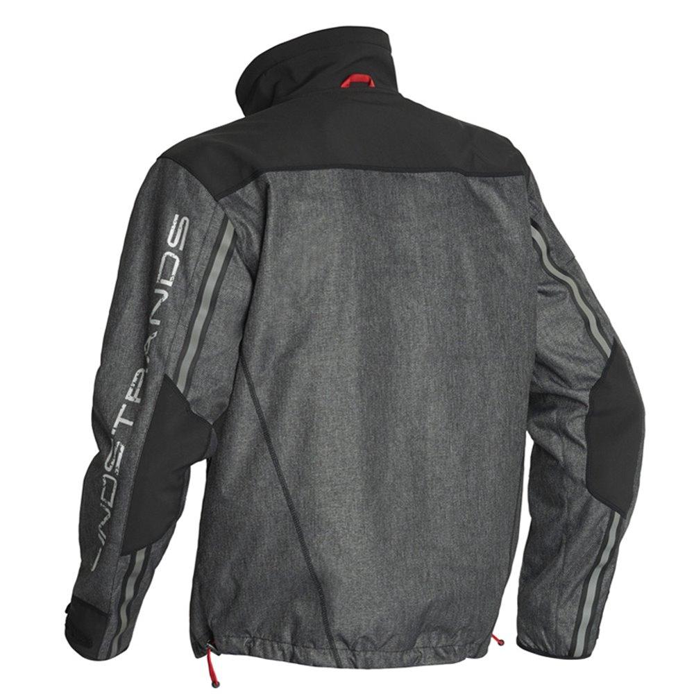Lindstrands Hood jacket Ziggy Grey 56
