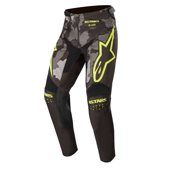 Alpinestars YOUTH RACER TACTICAL PANTS BLACK GRAY CAMO YELLOW FLUO 22