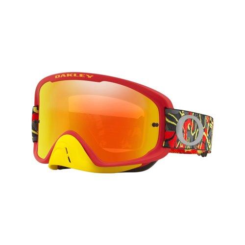 Oakley O Frame 2.0 MX Camo Vine Night Red Yellow Fire Iridium