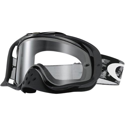 Oakley Goggles Crowbar Mx Jet Black Speed  Dual Clear