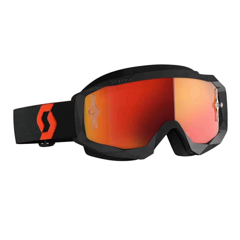 Scott Goggle MX Hustle X MX orange/black orange chrome works