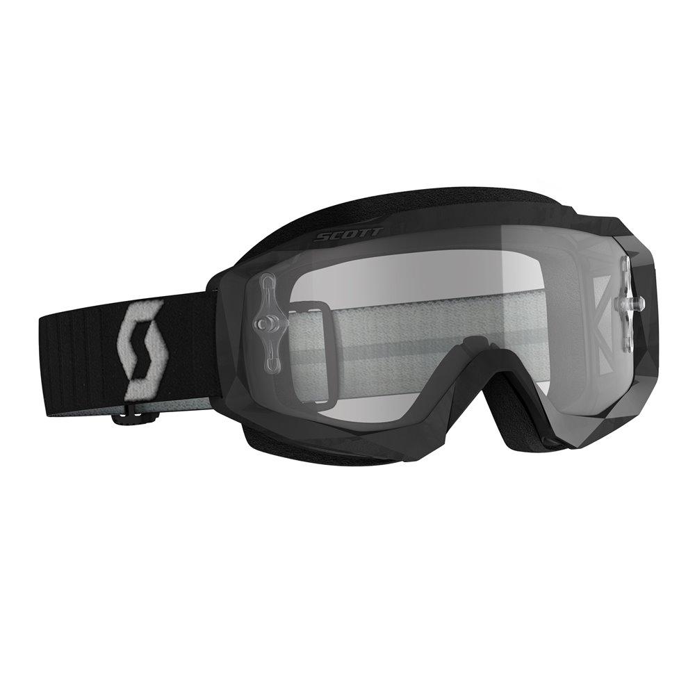 Scott Goggle MX Hustle X MX black/grey clear works