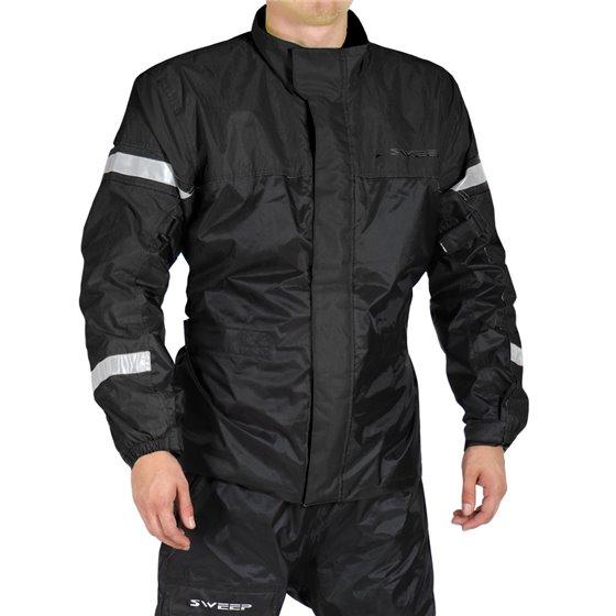 Sweep Rainjacket Monsoon 3, black 2XL