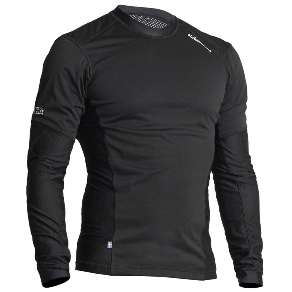 Halvarssons Sweater Windproof Mesh Black 3XL