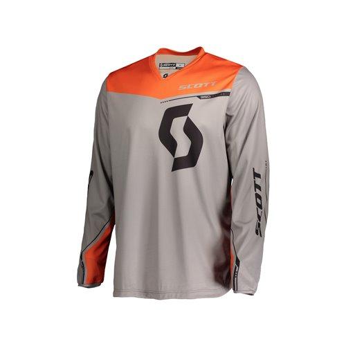 SCOTT Jersey 350 Dirt Kids grey/orange XS