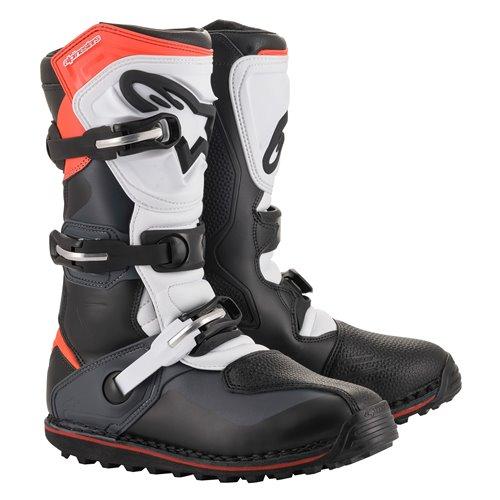 *Alpinestars Boot Tech T Black/Gray/Red Fluo 48 (13)