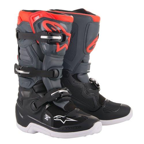 *Alpinestars Boot Tech 7s junior Black/Gray/Red 42 (8)