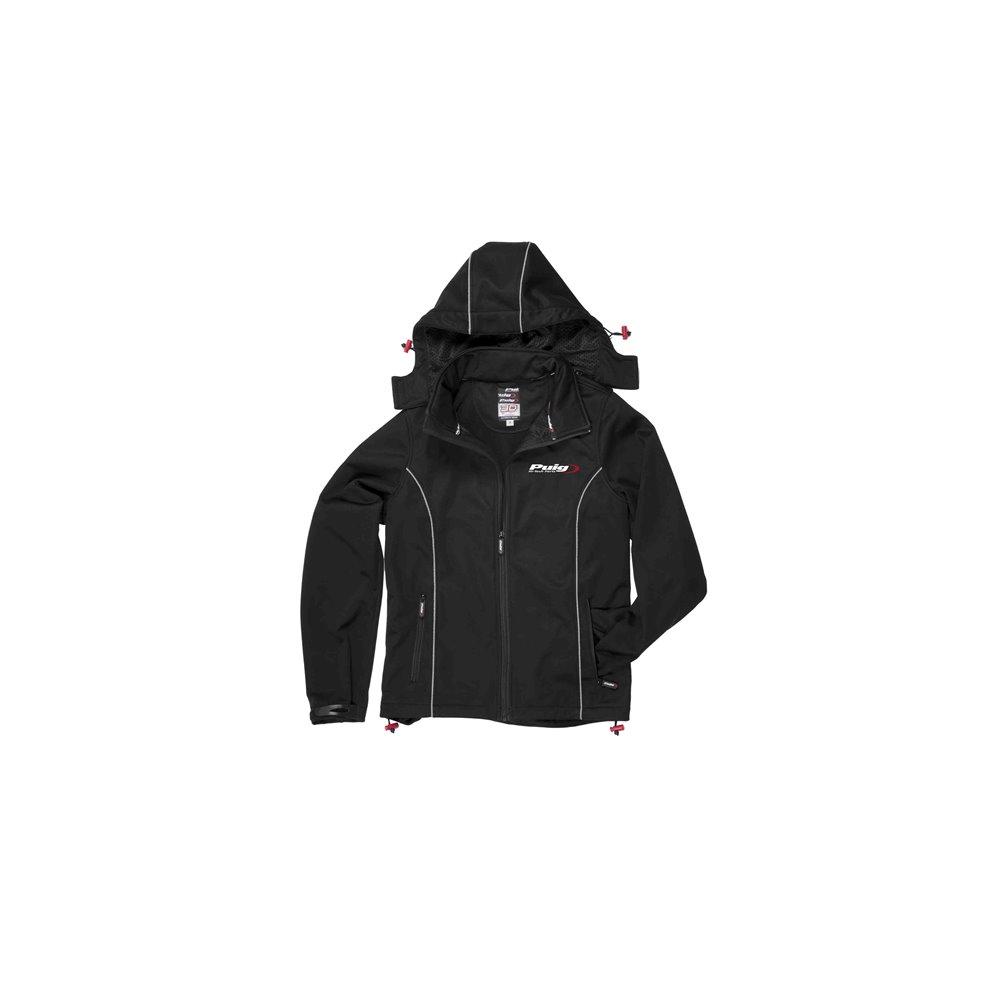 Puig Jacket Puig Hi-Tech Parts Size Xxxl C/Black