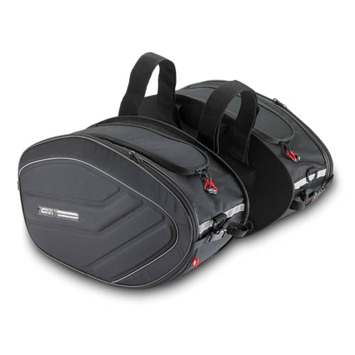 Givi EA100B Pair of 40ltr side bags - Easy Range