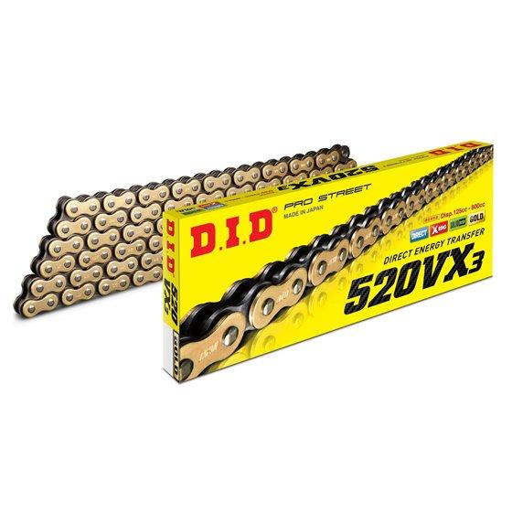 D.I.D 520VX3 G&B Chain+Connecting link rivet type (ZJ)