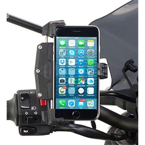 Givi Universal smartphone holder dimensions 112x52 - 148x75mm