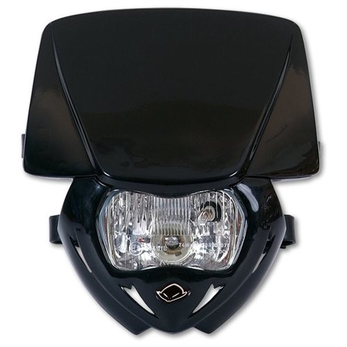 UFO Headlight Panther Black 001 Approved