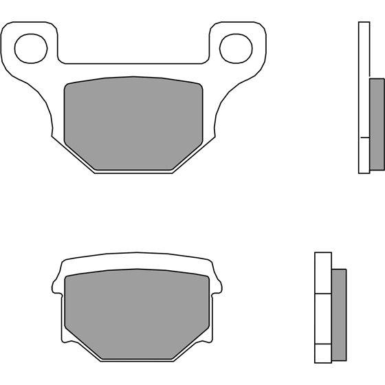 Brembo Brakepads Carbon-Ceramic