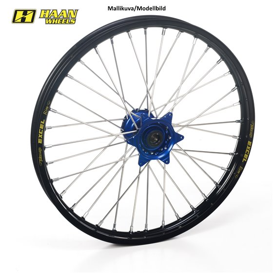 * Haan wheel WR250R/X 21-1,60 BLUE HUB/BLACK RIM