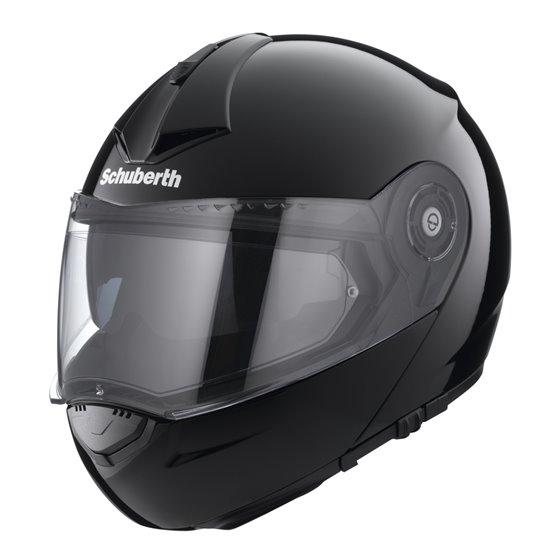 Schuberth helmet, C3 PRO black XS 52/53