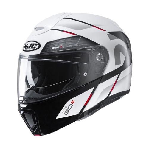 HJC Helmet RPHA 90 Bekavo White black MC1 MC1 M 57-58cm