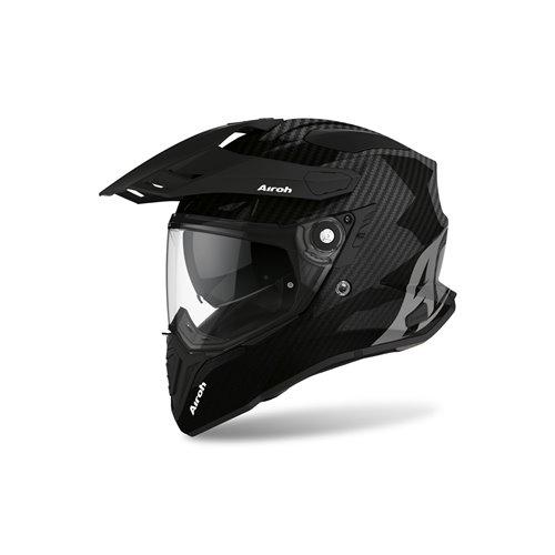 Airoh Helmet Commander Carbon full carbon gloss XXL