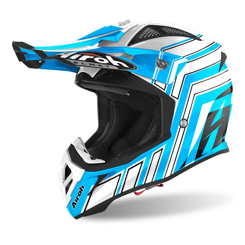 Airoh Helmet Aviator Ace ART blue XL