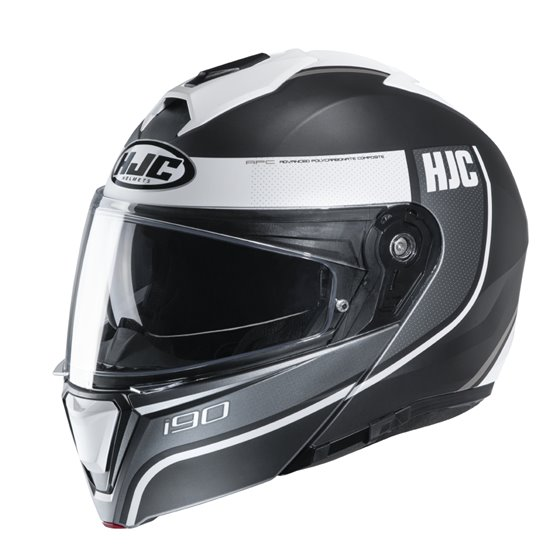 HJC Helmet I90 Davan Grey white MC10SF 2XL 62-63cm
