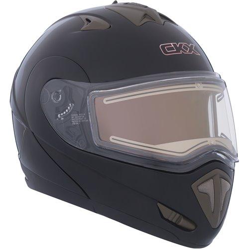 CKX Helmet TRANZ E with electric visor Matt black 3XL