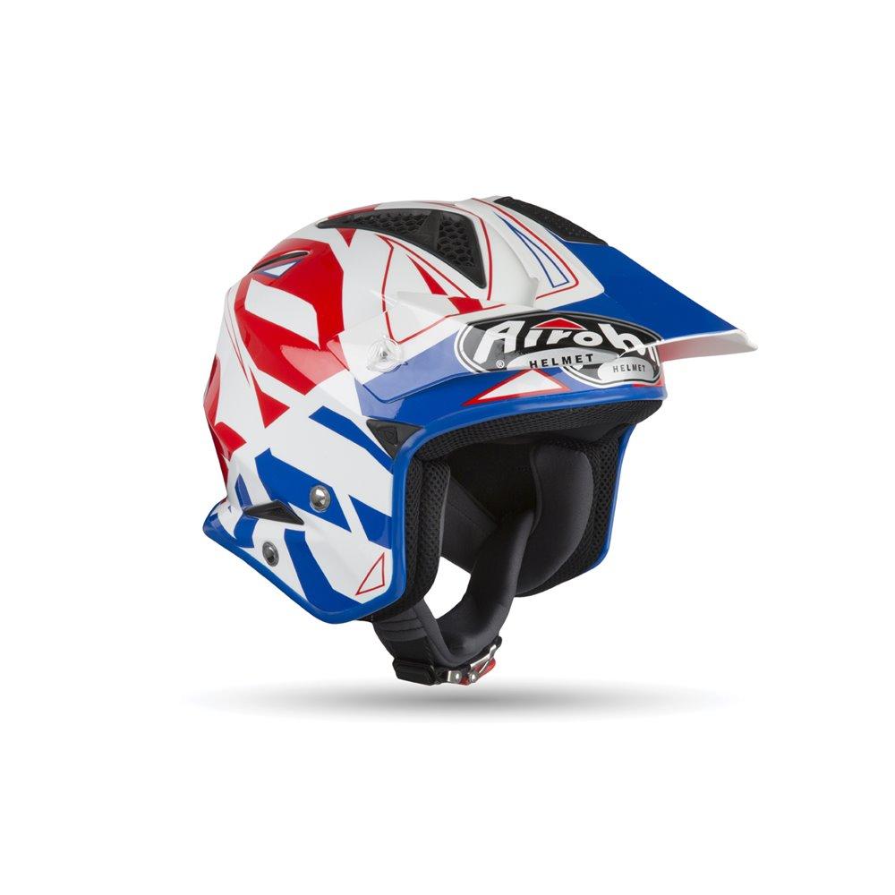 Airoh Helmet TRR-S CONVERT Blue Gloss 2XL