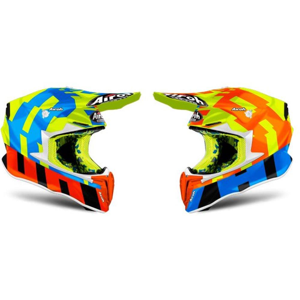Airoh Helmet Twist 2.0 Frame yellow gloss XS