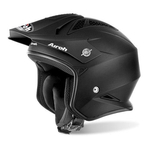 Airoh Helmet TRR S Color  black matt XS
