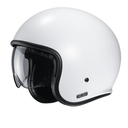 HJC Helmet V30 Flat White 2XL 62-63cm