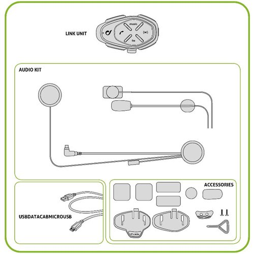*Interphone intercom LINK -  single pack