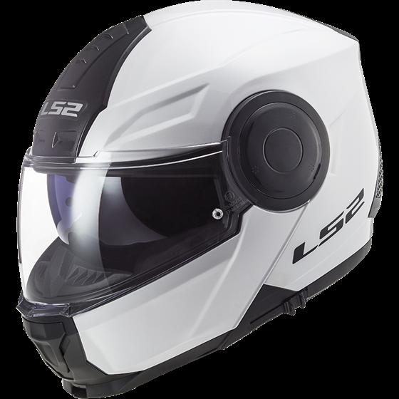 LS2 Helmet FF902 SCOPE SOLID WHITE M