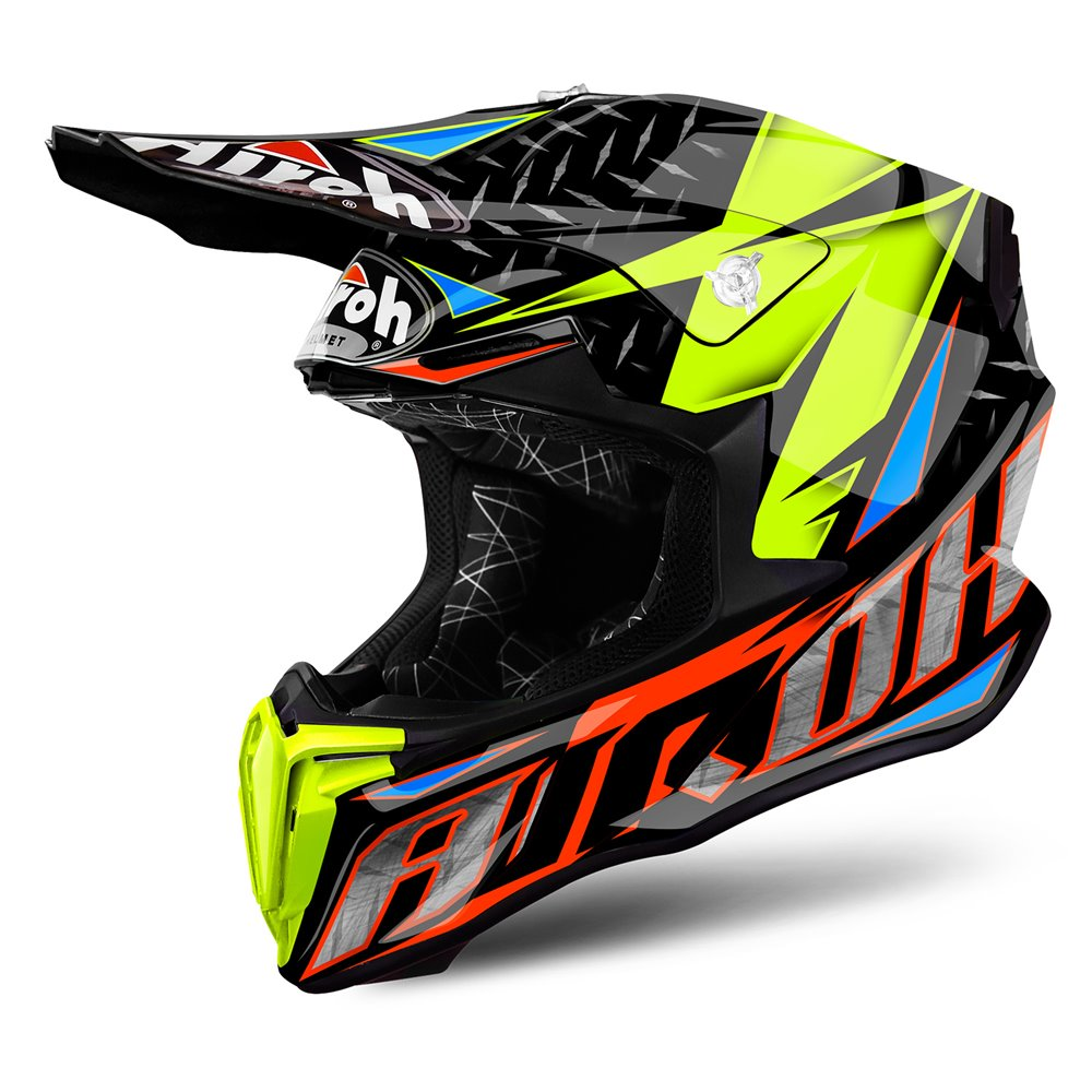 Airoh Helmet Twist Iron orange gloss XL