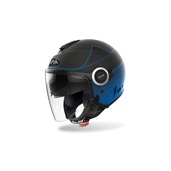 Airoh Helmet Helios Map blue Matt XL