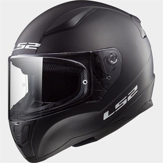 LS2 Helmet FF353J SOLID matt black M