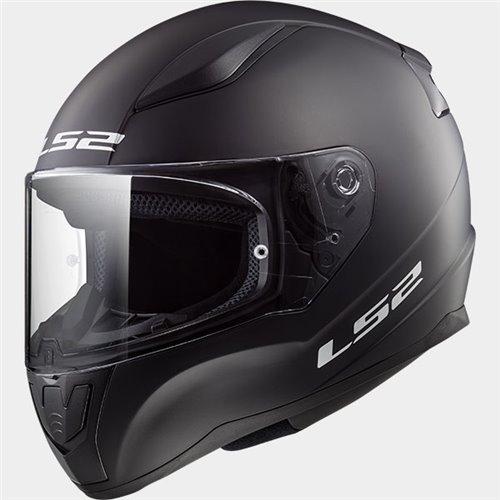 LS2 Helmet FF353J SOLID matt black L