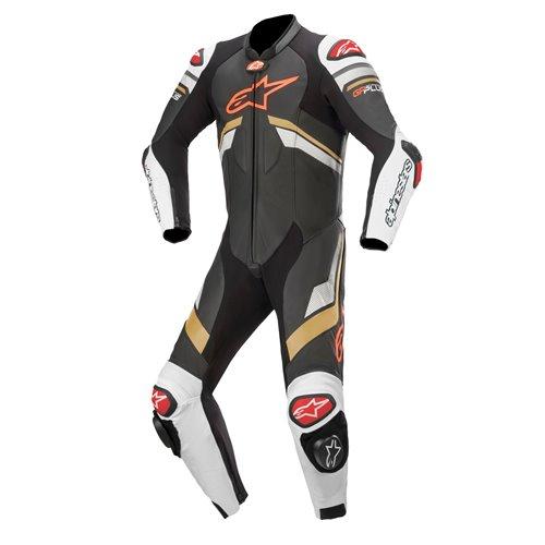Alpinestars Leather suit 1-pcs GP Plus v3 Black/White/Yellow 48