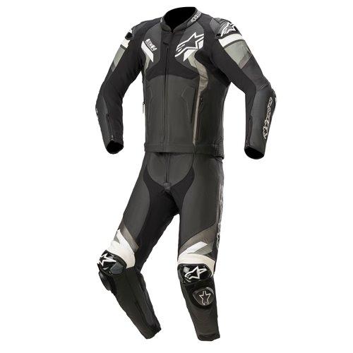 Alpinestars Leather suit 2-pcs Atem v4 Black/White 54
