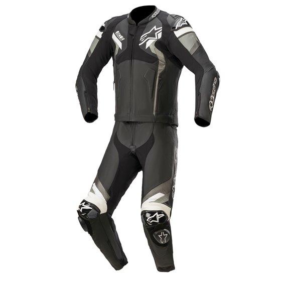 Alpinestars Leather suit 2-pcs Atem v4 Black/White 52