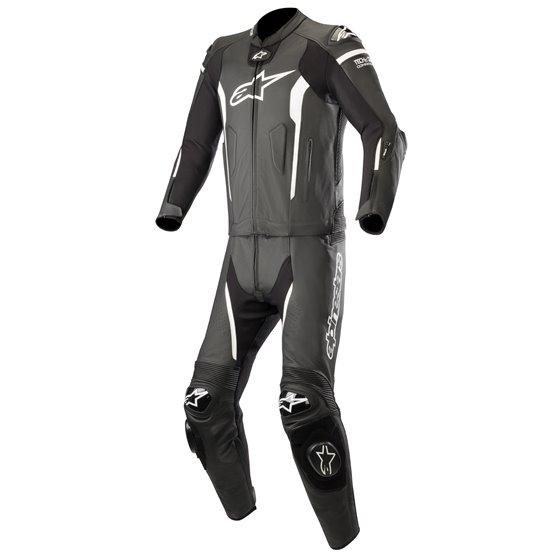 Alpinestars Leather suit Missile Tech Air 2-pcs Black/White 50