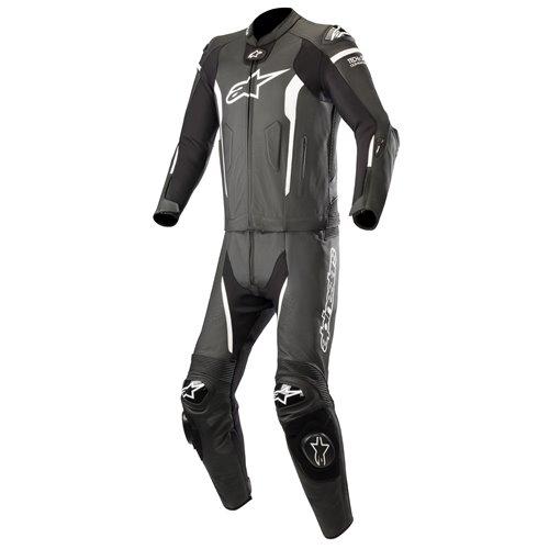 Alpinestars Leather suit Missile Tech Air 2-pcs Black/White 52
