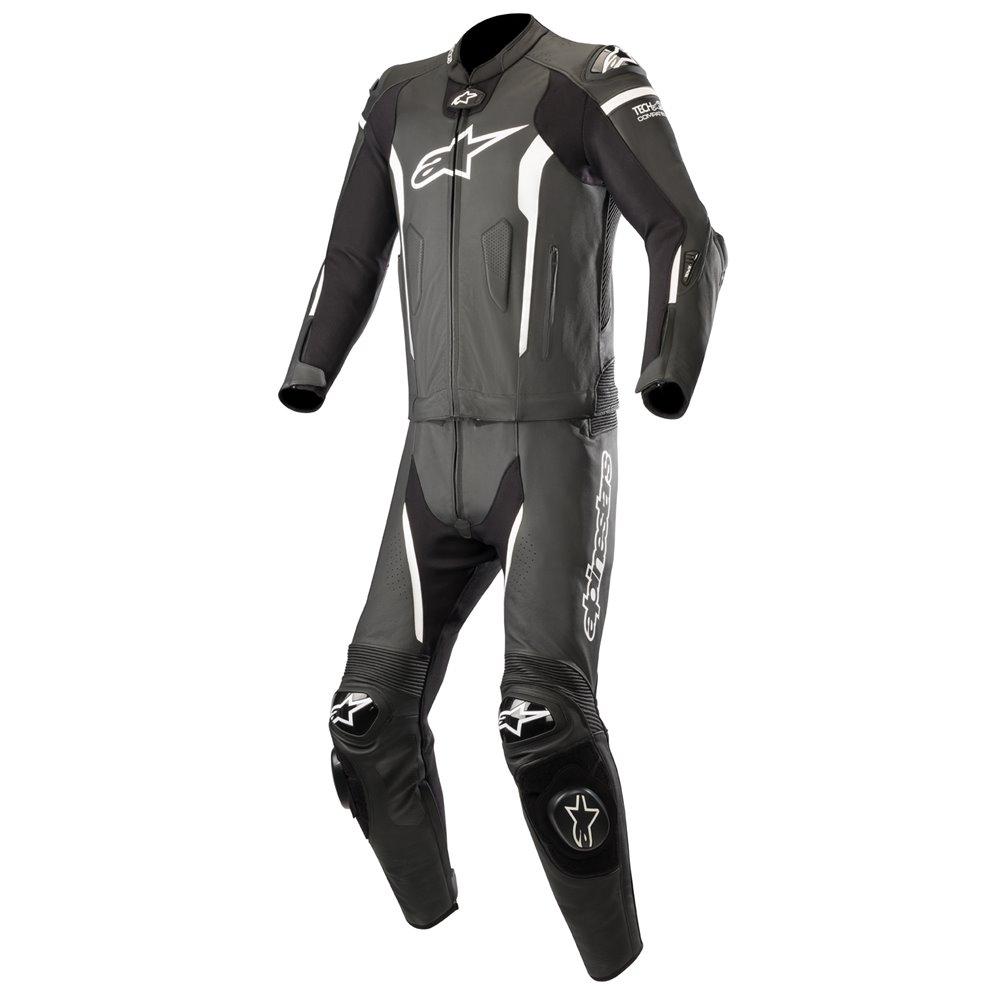 Alpinestars Leather suit Missile Tech Air 2-pcs Black/White 54