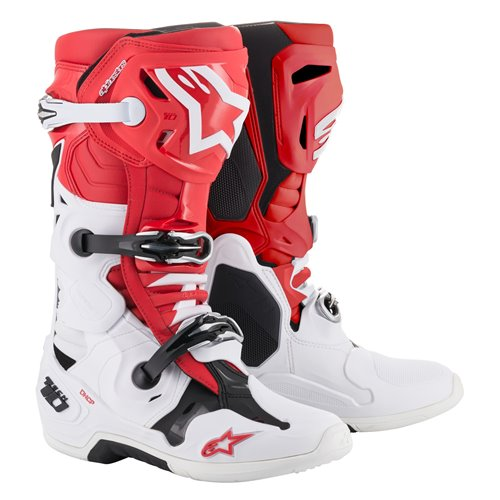 Alpinestars Boot Tech 10 Red/White/Black 43 (9)