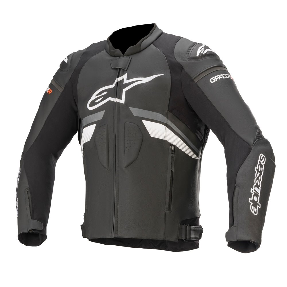 Alpinestars Leather Jacket GP Plus R v3 Black/White 50