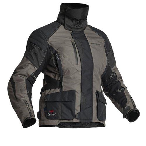 Halvarssons Textile jacket Wien Lady Black/lava 38