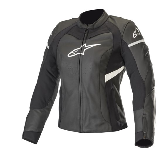 Alpinestars Leather jacket Stella Kira Black/White 42